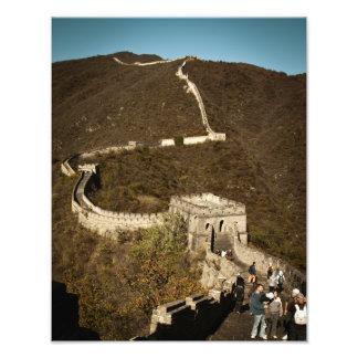 Great Wall of China Photograph