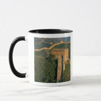 Great Wall winding through the mountain, China Mug