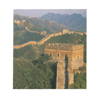Great Wall winding through the mountain, China Notepad