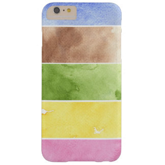 great watercolor background - watercolor paints 2 barely there iPhone 6 plus case