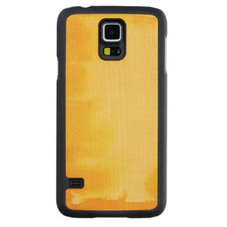 great watercolor background - watercolor paints 2 carved maple galaxy s5 case