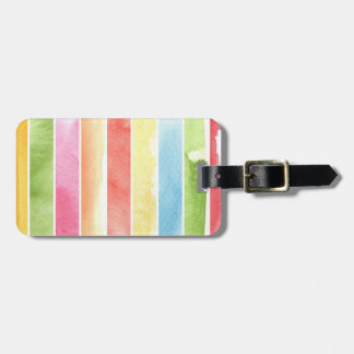 great watercolor background - watercolor paints 2 luggage tag