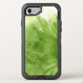 great watercolor background - watercolor paints 2 OtterBox defender iPhone 8/7 case