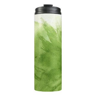 great watercolor background - watercolor paints 2 thermal tumbler