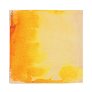 great watercolor background - watercolor paints 2 wood coaster
