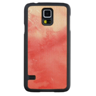 great watercolor background - watercolor paints 3 carved maple galaxy s5 case