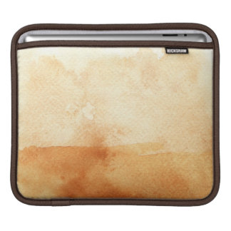 great watercolor background - watercolor paints 3 iPad sleeve