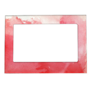 great watercolor background - watercolor paints 3 magnetic frame
