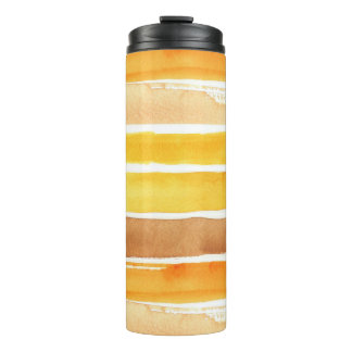 great watercolor background - watercolor paints 3 thermal tumbler