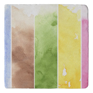 great watercolor background - watercolor paints 3 trivet