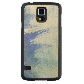 great watercolor background - watercolor paints 4 carved maple galaxy s5 case