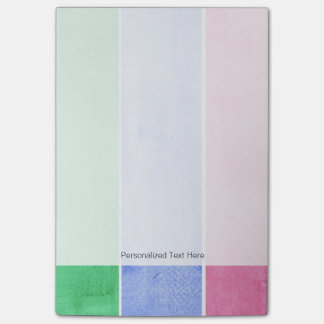 great watercolor background - watercolor paints 4 post-it notes