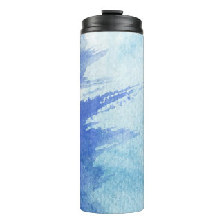 great watercolor background - watercolor paints 4 thermal tumbler