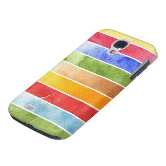 great watercolor background - watercolor paints 5 galaxy s4 case
