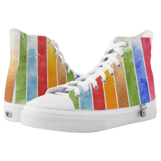 great watercolor background - watercolor paints 5 printed shoes