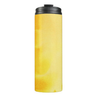 great watercolor background - watercolor paints 5 thermal tumbler