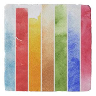 great watercolor background - watercolor paints 5 trivet
