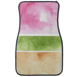 great watercolor background - watercolor paints 6 car mat