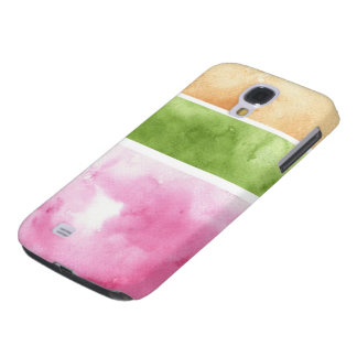great watercolor background - watercolor paints 6 galaxy s4 case