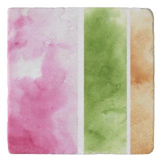great watercolor background - watercolor paints 6 trivet
