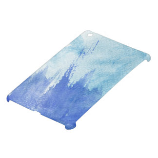 great watercolor background - watercolor paints iPad mini case