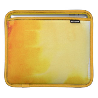 great watercolor background - watercolor paints iPad sleeve