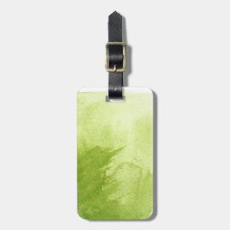 great watercolor background - watercolor paints luggage tag