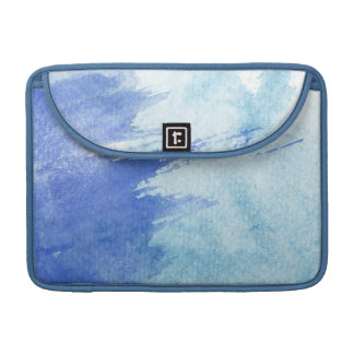 great watercolor background - watercolor paints sleeve for MacBooks