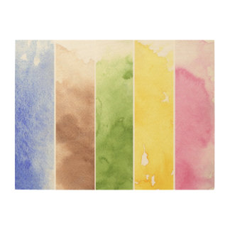 great watercolor background - watercolor paints wood wall decor