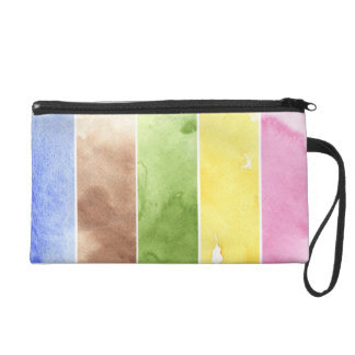 great watercolor background - watercolor paints wristlet