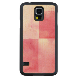 great watercolor banners for your design carved maple galaxy s5 case