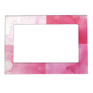 great watercolor banners for your design magnetic frame