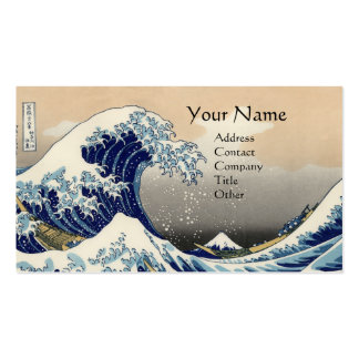 GREAT WAVE BUSINESS CARD