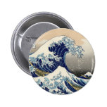 Great Wave Button