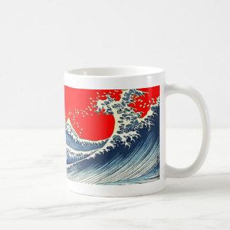 Great Wave Design Coffee Mug From SHARLES