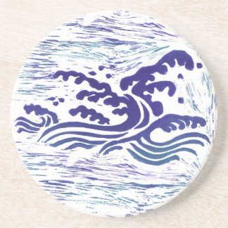 Great Wave Drink Coasters