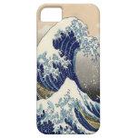 Great Wave Fine Art 葛飾北斎「神奈川沖浪裏」 iPhone 5 Covers