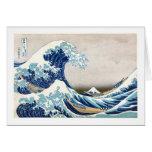Great Wave Hokusai 葛飾北斎の神奈川沖浪裏 Card
