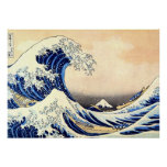 great wave hokusai impresiones