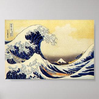 Great Wave of Hokusawa Posters