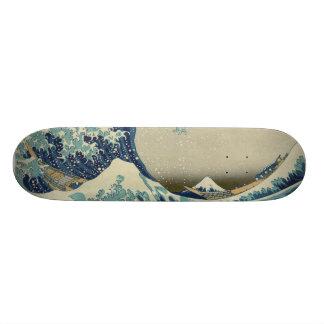 Great  Wave Off Kanagawa 21.3 Cm Mini Skateboard Deck