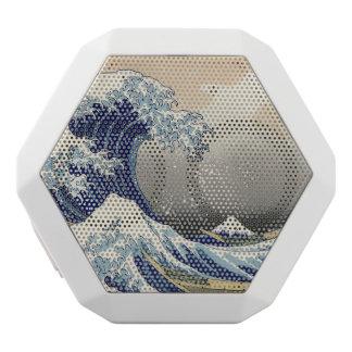 Great Wave off Kanagawa White Boombot Rex Bluetooth Speaker