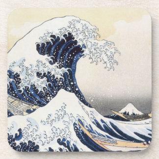 Great Wave off Kanagawa by Hokusai Coaster
