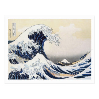 Great Wave off Kanagawa by Hokusai Postcard