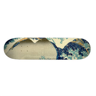Great Wave Off Kanagawa Custom Skate Board