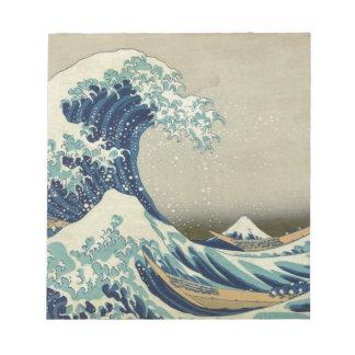 Great Wave off Kanagawa - Hokusai Notepad