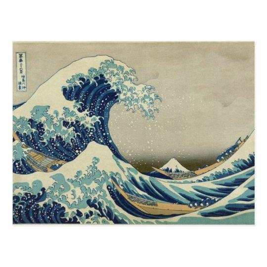 Great Wave off Kanagawa - Hokusai Postcard
