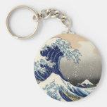 Great Wave off Kanagawa Key Chain