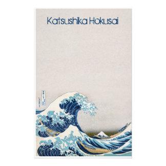 Great Wave off Kanagawa Personalized Stationery Paper