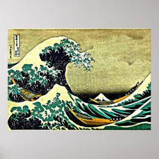 Great Wave off Kanagawa Posters